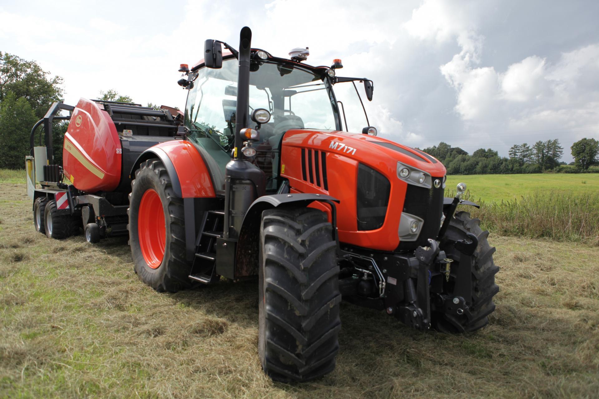 tracteur kubota m 7002